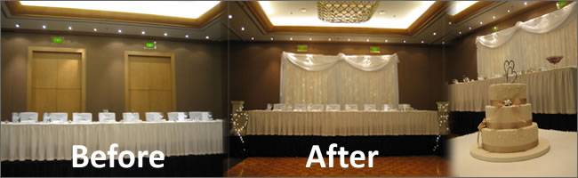 Chair Cover And Party Hire Items For Rent Auckland